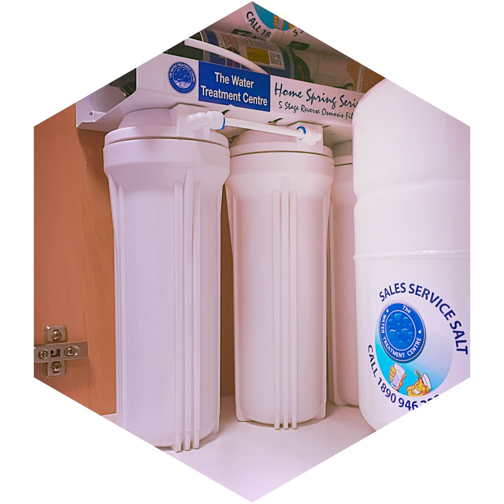 5 Stage Reverse Osmosis Water Filter The Water Treatment